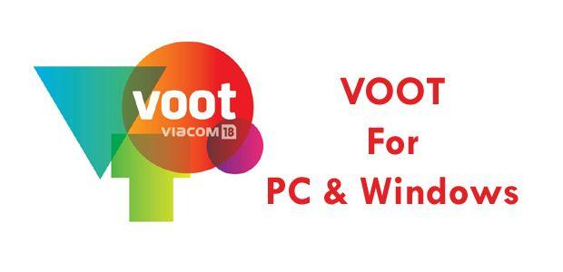 Voot App Download For PC (2019) Download app, Online