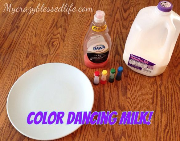 Simple experiment for kids with only three items!