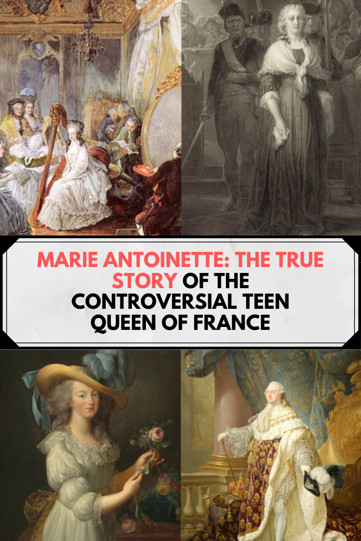 Marie Antoinette: The True Story Of The Controversial Teen Queen Of France #stufftobuy