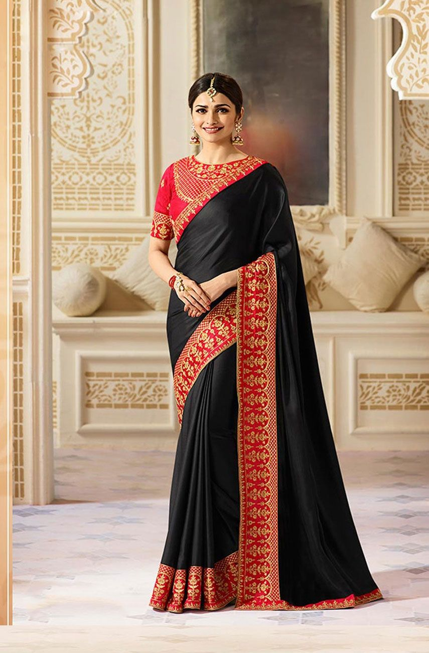 53e8742ad65 Buy Fashion Zonez Embroidery With Stone Work Silk Saree Online at Low prices  in India on Winsant