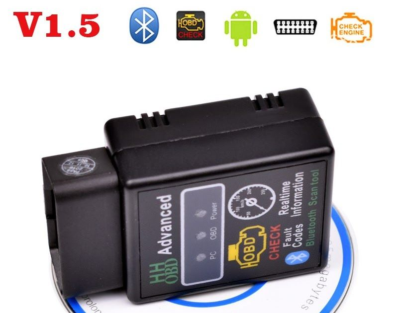 Free shipping V1 5 ELM327 OBD2 Mini OBDII Bluetooth Car Code