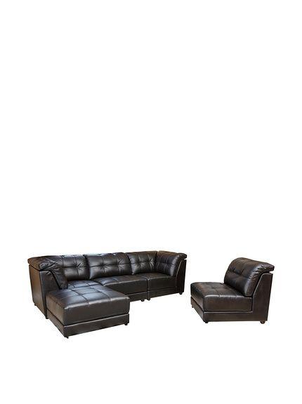 Abbyson Living Donovan 5-Piece Modular Leather Sectional, Black, http://www.myhabit.com/redirect/ref=qd_sw_dp_pi_li?url=http%3A%2F%2Fwww.myhabit.com%2Fdp%2FB01684JX7C%3F