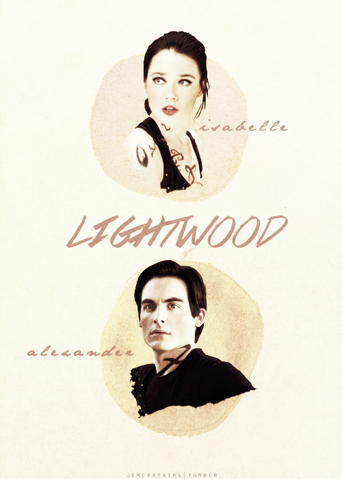 Isabelle and Alec Lightwood by itsmichelee on DeviantArt