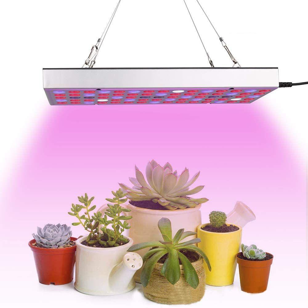 Grow Light Led Growing Lights Indoor Plants Full Spectrum Panel Plant Lamp For Seeding Vegetable Flower 25w In 2020 Led Grow Lights Grow Light Bulbs Grow Lights