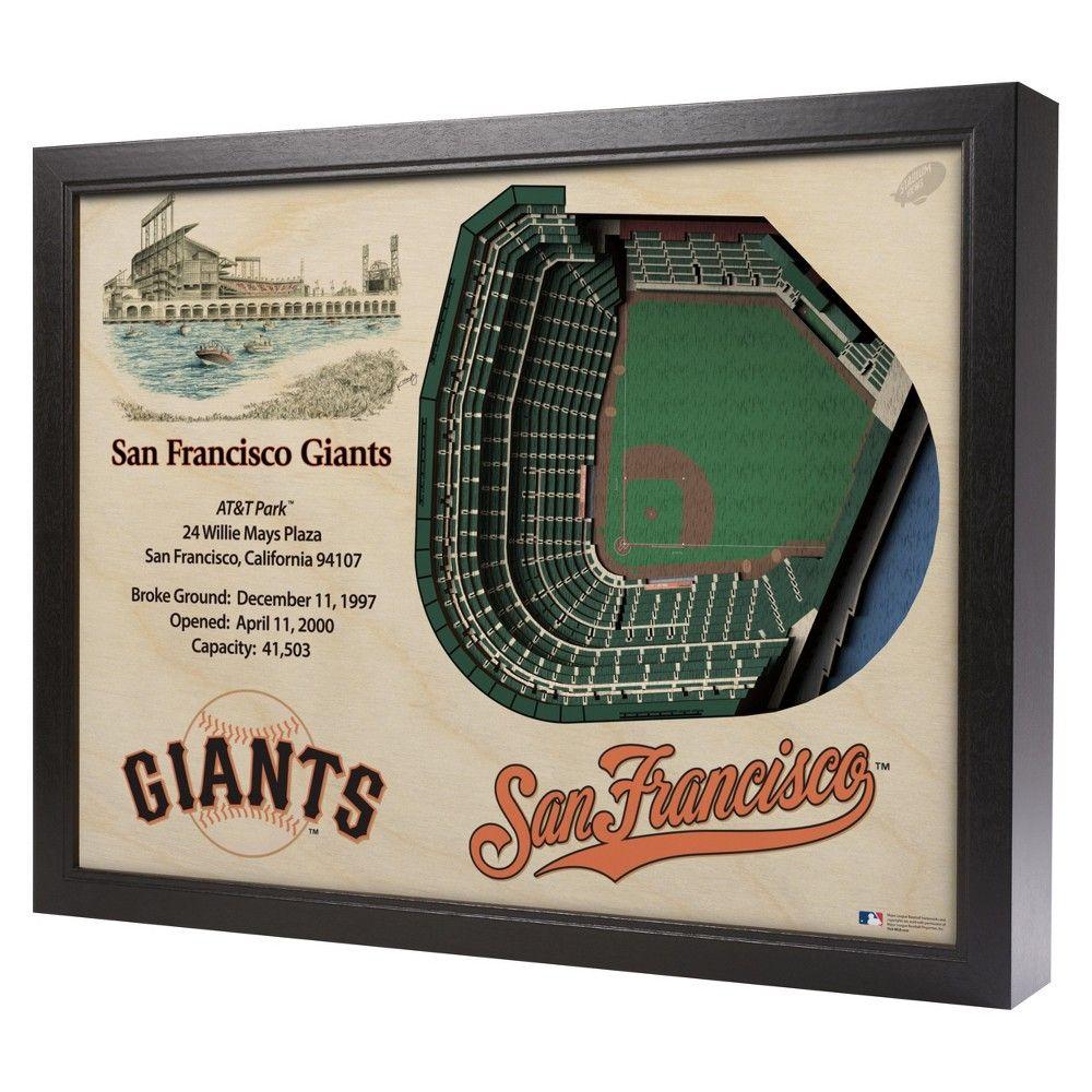 MLB San Francisco Giants Stadium Views Wall Art AT&T