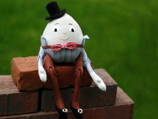Sewing: Humpty Dumpty Doll