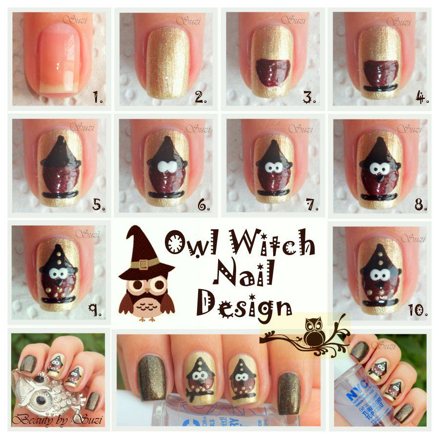 Owl Witch (es) | Teaching | Pinterest | Witches, Owl and Nail nail