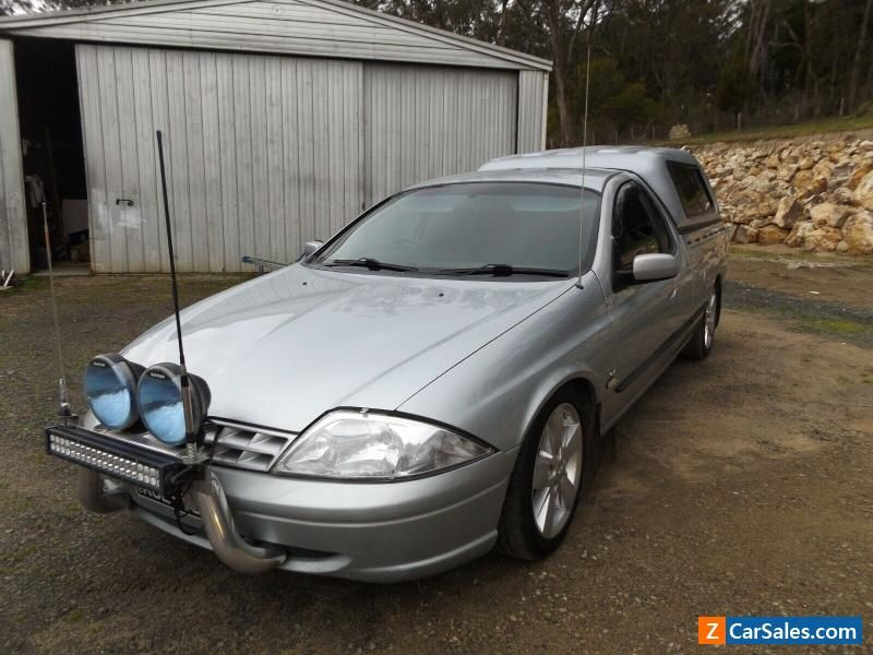 Car For Sale Ford Falcon Ute Au 2002