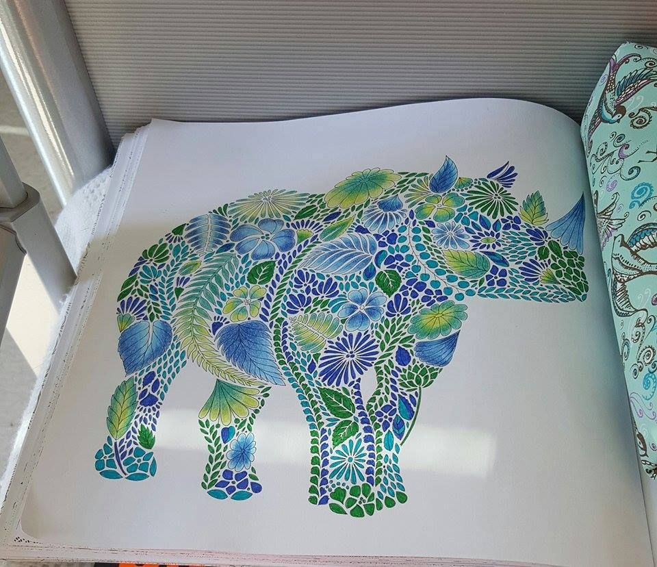 Coloring Ideas Rhino