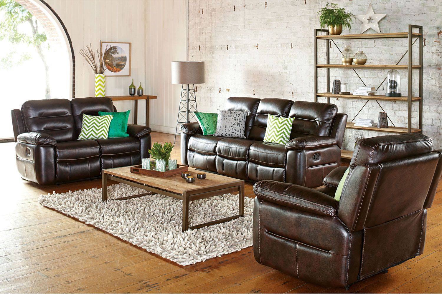 The Somerset Lounge consists of a 3 seater sofa with 2 built in ...
