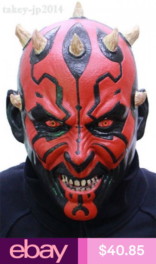 New Star Wars Darth Maul Rubber Mask Made In Japan Free Shipping Star Wars Art Darth Maul Star Wars Darth