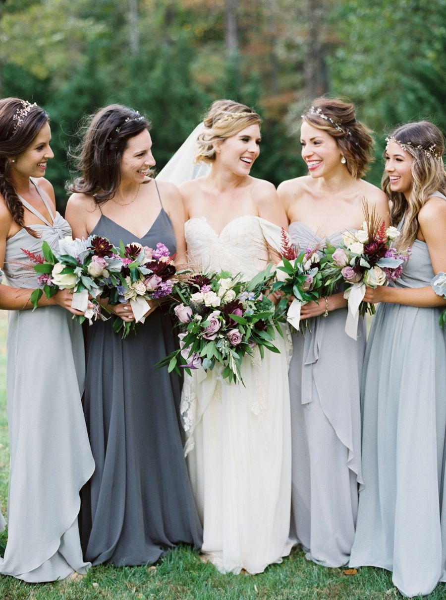Fairytale style whimsy for a fall ranch wedding ranch weddings fairytale style whimsy for a fall ranch wedding grey bridesmaidsgrey bridesmaid dressesranch ombrellifo Gallery