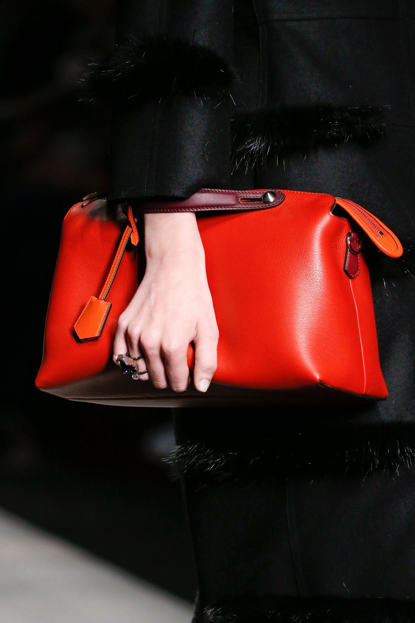 Fendi Fall 2014 Ready-to-Wear Fashion Show   Collection, Bag and Red ... afef2d7905