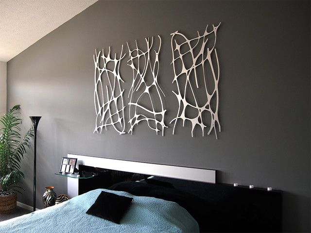 Awesome bedrooms   Contemporary Wall Art   HomeMajestic. Contemporary Wall Art   Walls  Contemporary and Bedrooms