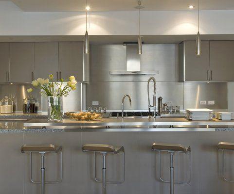 Nyc Loft Kitchen  Kitchen Ideas  Pinterest  Loft Kitchen Lofts Enchanting Modern Kitchen Cabinets Nyc Decorating Inspiration