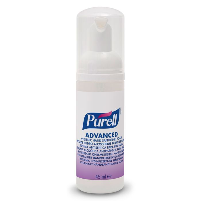 Purell Hygienic Hand Sanitising Foam 45ml Pump Bottle 1 Hand