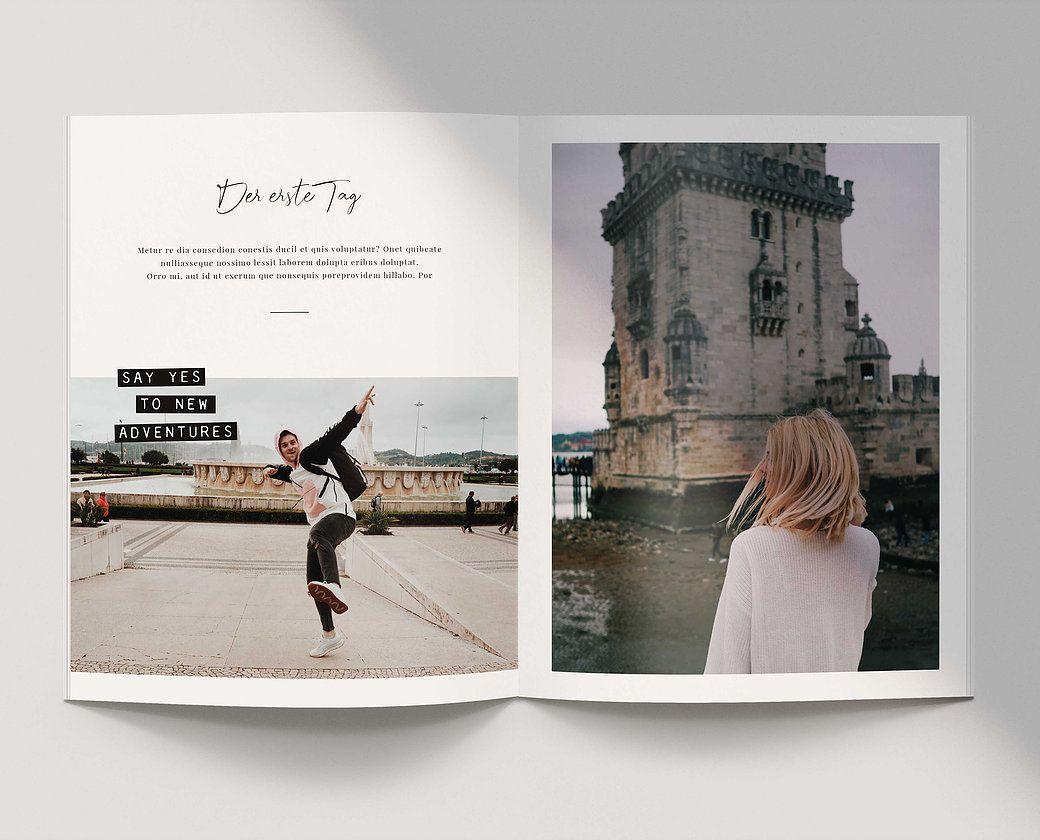 Fotobuch Vorlage Wanderlust Thelovelypeony Fotobuch Gestalten Fotos Fotobuch