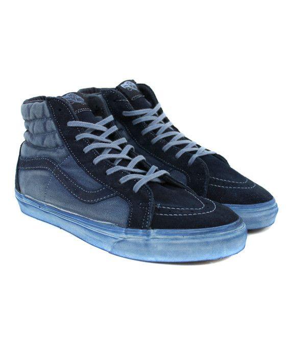 3f376ecb06 Vans Sk8-Hi Reissue CA Over Washed Dress Blues