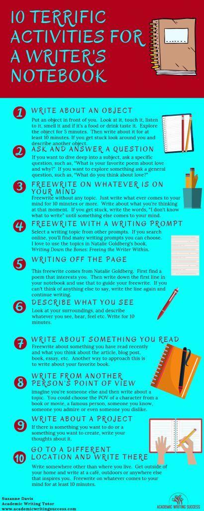 10 Terrific Writer's Notebook Ideas to Inspire Creativity - Academic Writing Success