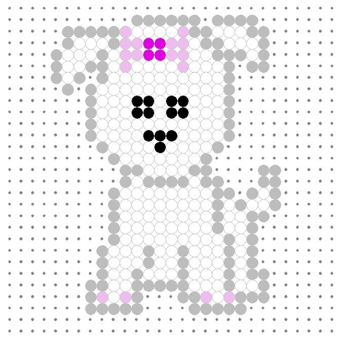Link to a bunch of different perler patterns for animals