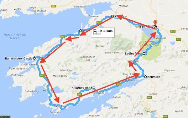 County Cork Ireland Map County Ireland Grafschaft Kork Irland