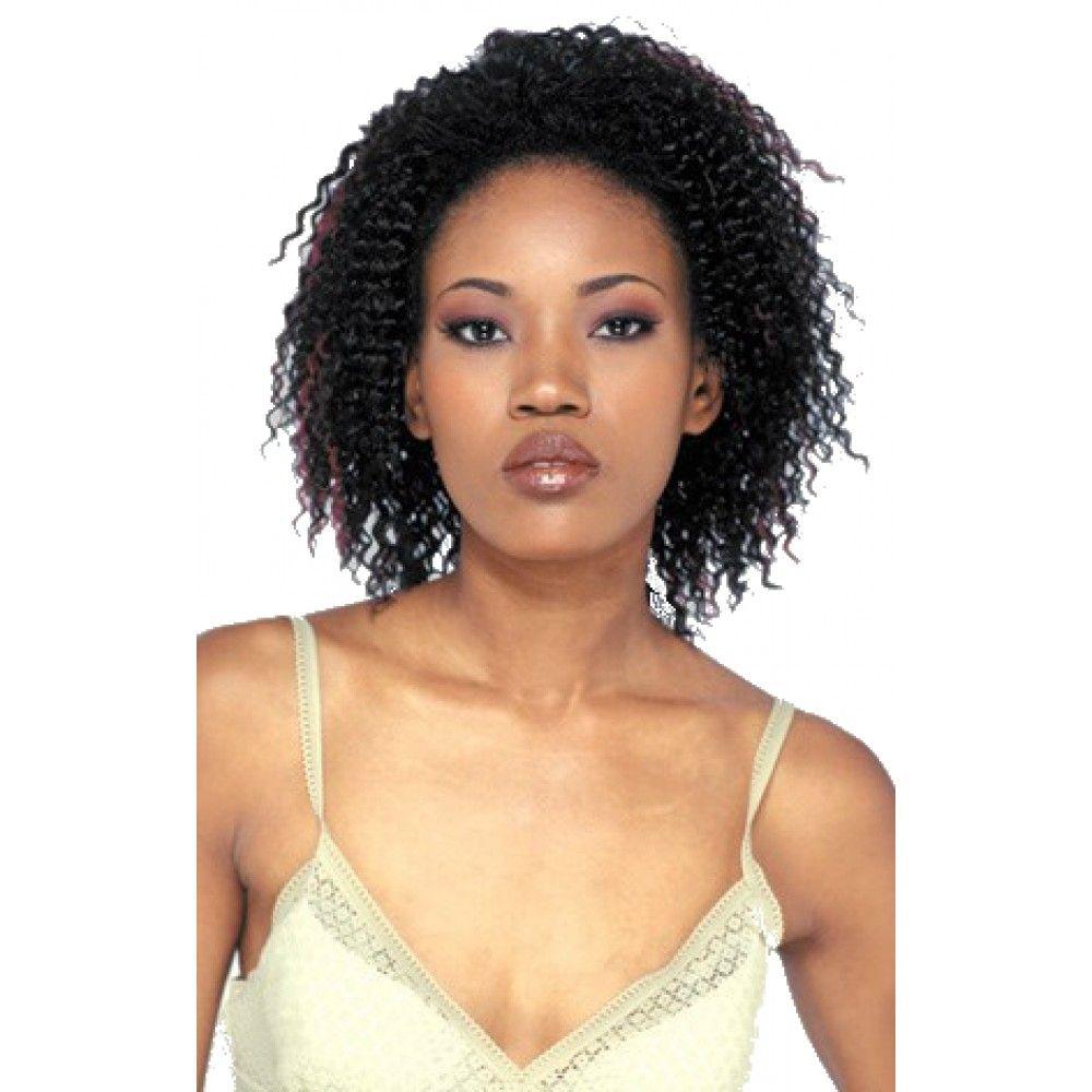 Freetress Fullcap Drawstring Half Wig Jamaican Girl