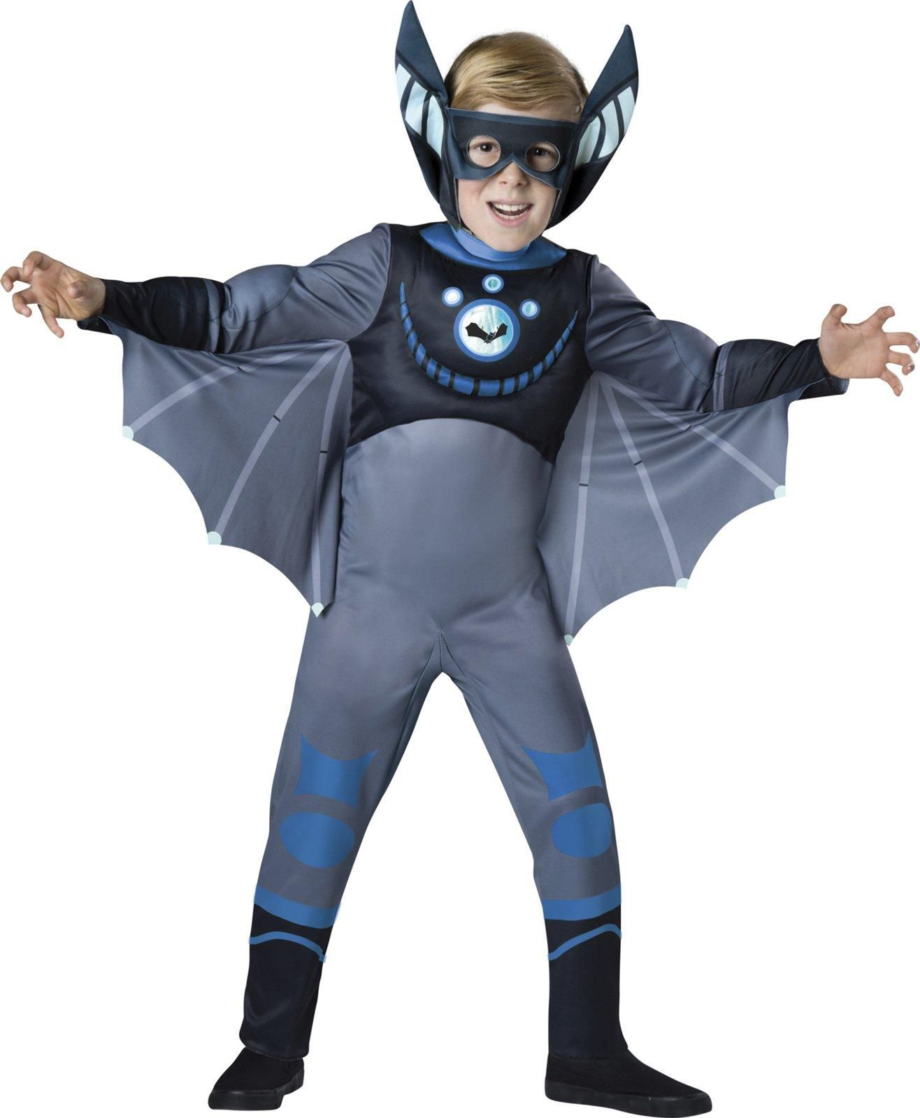 Boys Green Cheetah Muscle Costume - Wild Kratts - Party City ...