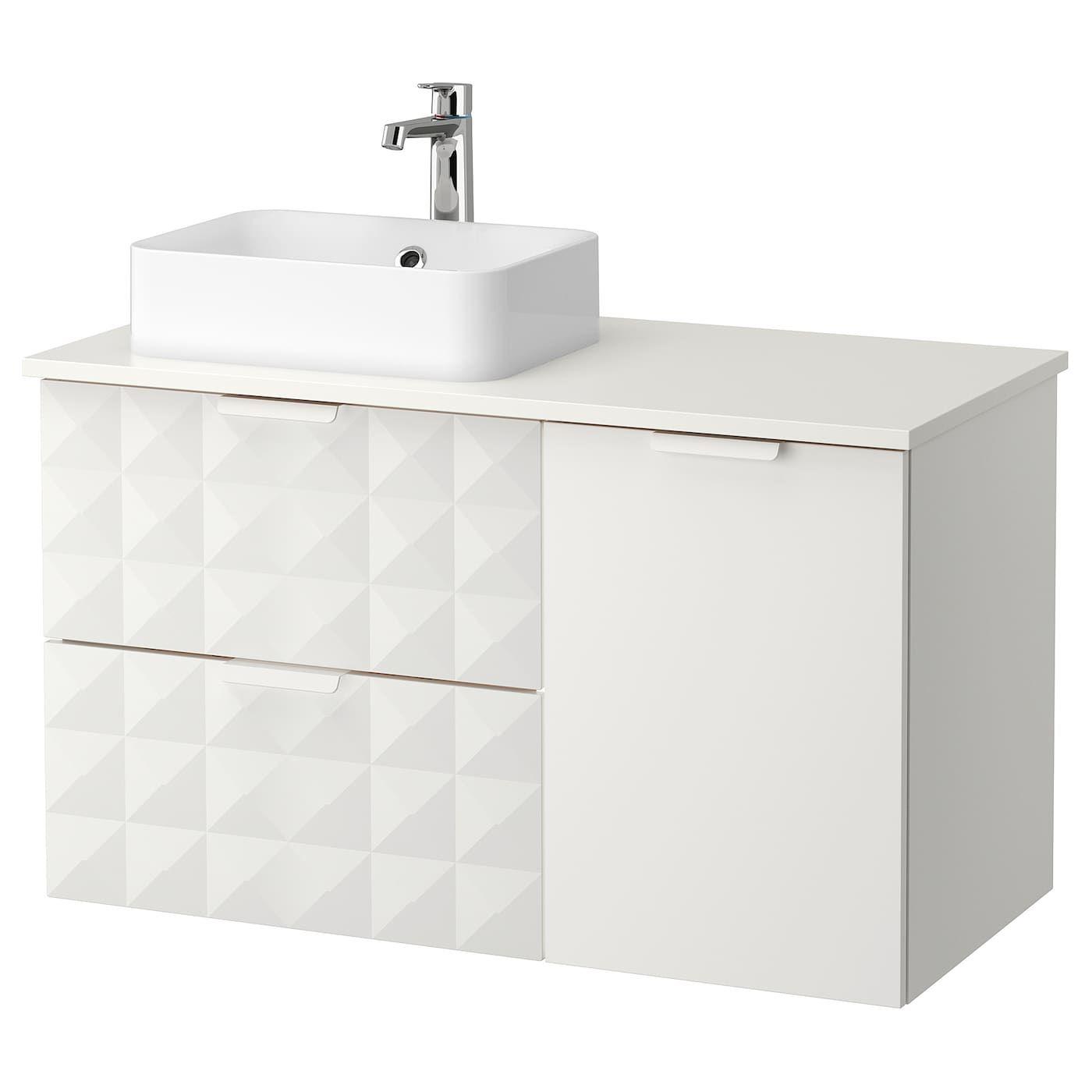 Ikea Godmorgon Tolken Horvik Waschbschr Waschb 45x32 Resjon Weiss Weiss Brogrund Mischbatt In 2020 Badezimmer Unterschrank Badezimmer Unterschrank Ikea Unterschrank