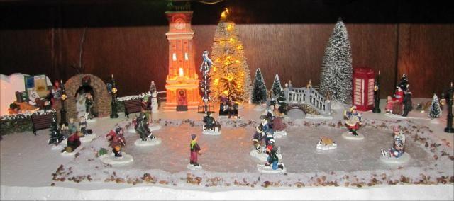 Christmas Village Ice Skating Rink.Best 40 Inspiring Christmas Decoration Ideas Christmas Decor