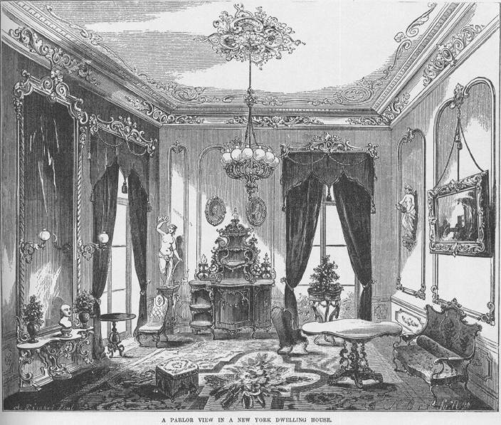 Victorian Second Empire Interior