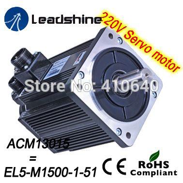 Leadshine 1500 W 220V AC servo motor ACM13015M2F 51 B (EL5