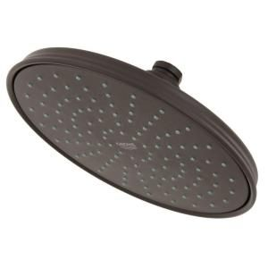 Grohe Rain Shower Showerhead In Oil Rubbed Bronze 28375zb0 At