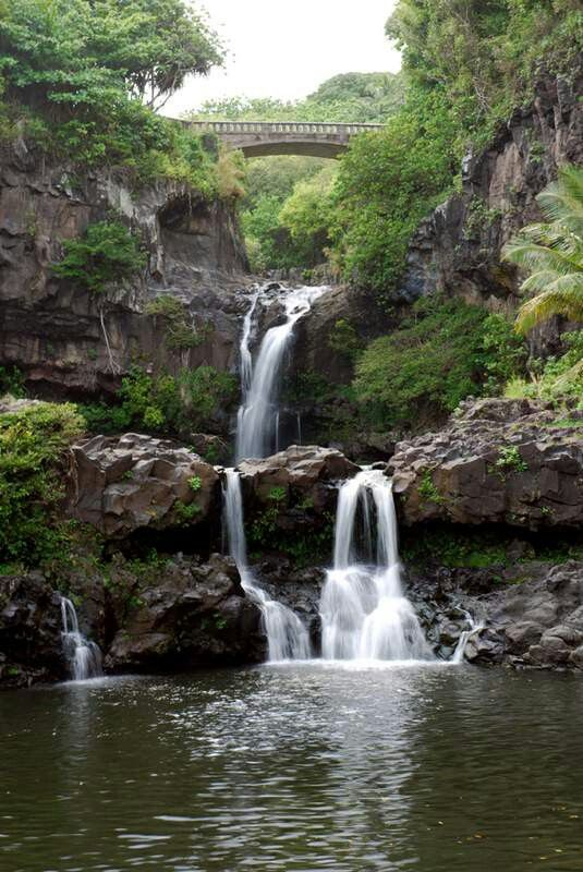 Oheo Gulch Or Better Know As Seven Sacred Pools In Maul A Favourite Of Mine Seven Sacred Pools Maui Maui Vacation Road To Hana