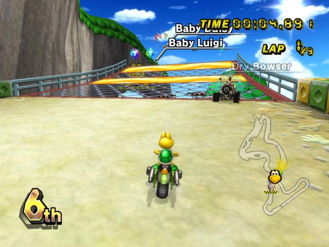 Koopa Cape From Mario Kart Wii Mario Kart Wii Mario Kart Mario