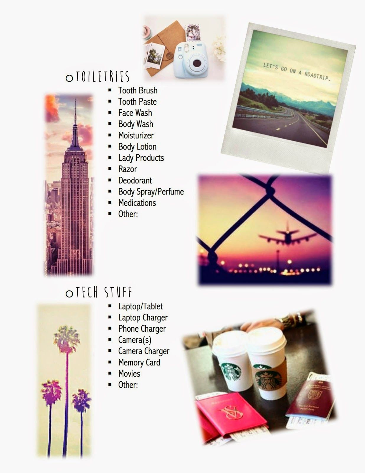 How I Pack For A Trip Vacation Checklist Amp Tips By Kalyn Nicholson