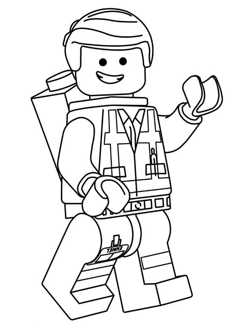 Kolorowanka Lego Do Wydruku Nr 7 Kolorowanki Kolorowanka Lego