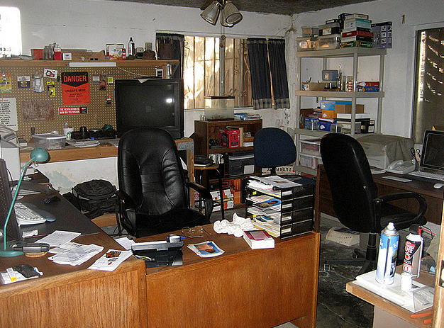 cluttered and messy office httpthestringoutwixcomfilm The