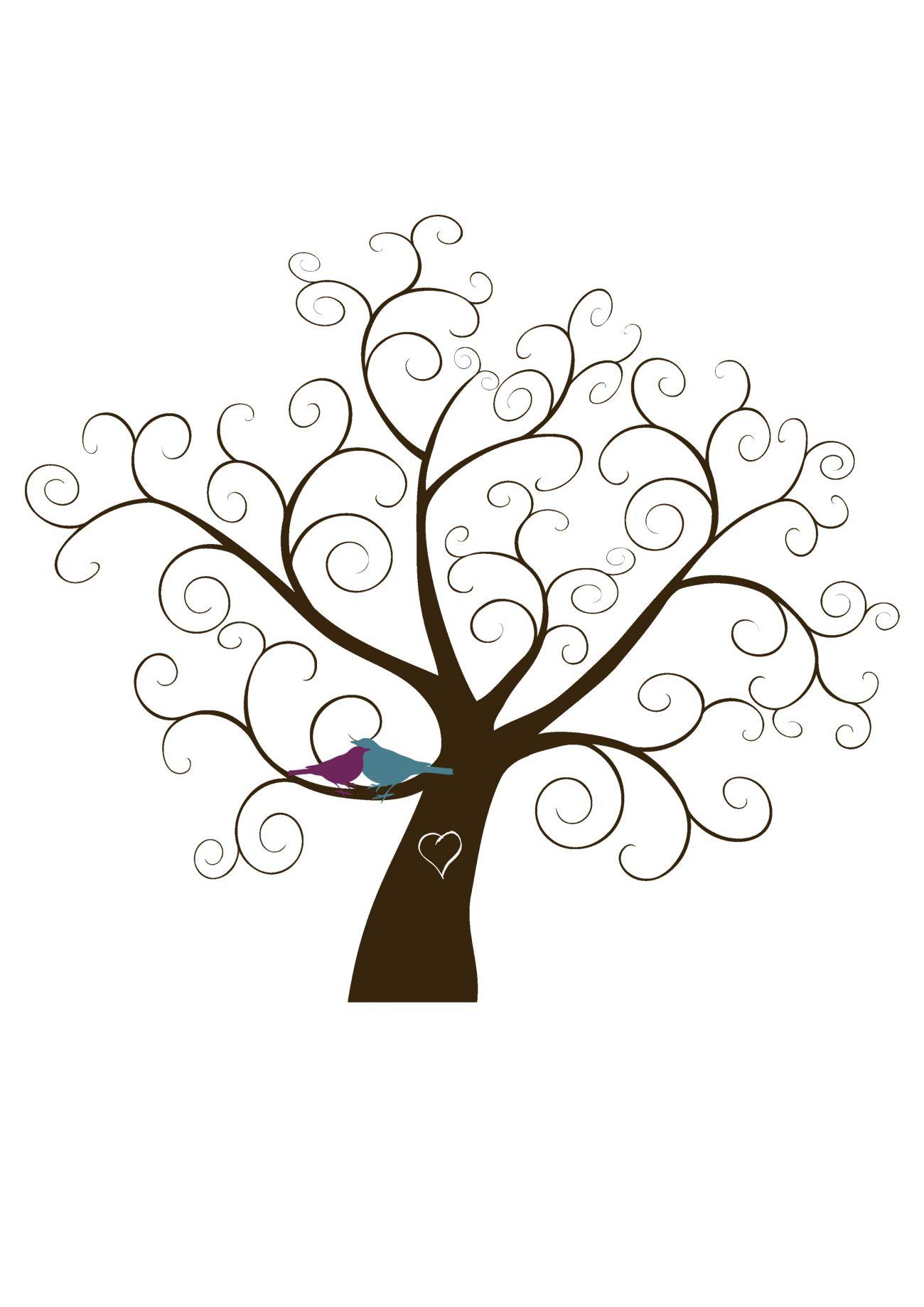 Plantilla árbol de huellas | ajándékba en 2018 | Pinterest | Huella ...