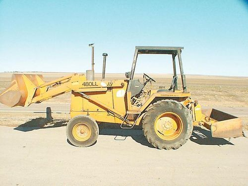 construction equipment case 480ll construction king backhoe parts rh pinterest com Tractor Owners Manuals Tractor Manual Thickness