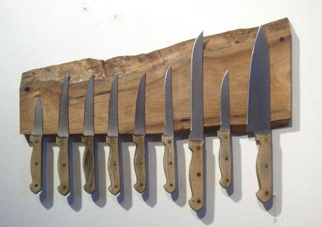 20 Magnetic Knife Rack Ideas From Wood Knife Rack Magnetic
