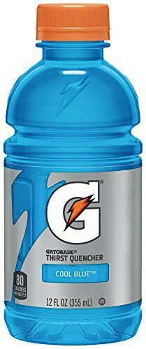 Gatorade Thirst Quencher Cool Blue 12 Ounce Bottles Pack Of 24 Ebay Gatorade Bottle Sports Drink