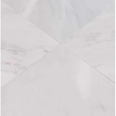 Msi 18 X 18 Marble Field Tile In Arabescato Carrara Honed Marble Floor Marble Tile Floor Flooring