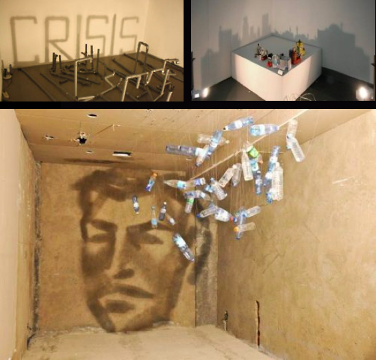 The Light / Shadow Art of Rashad Alakbarov. Installations using mundane objects with incredible creative outputs.