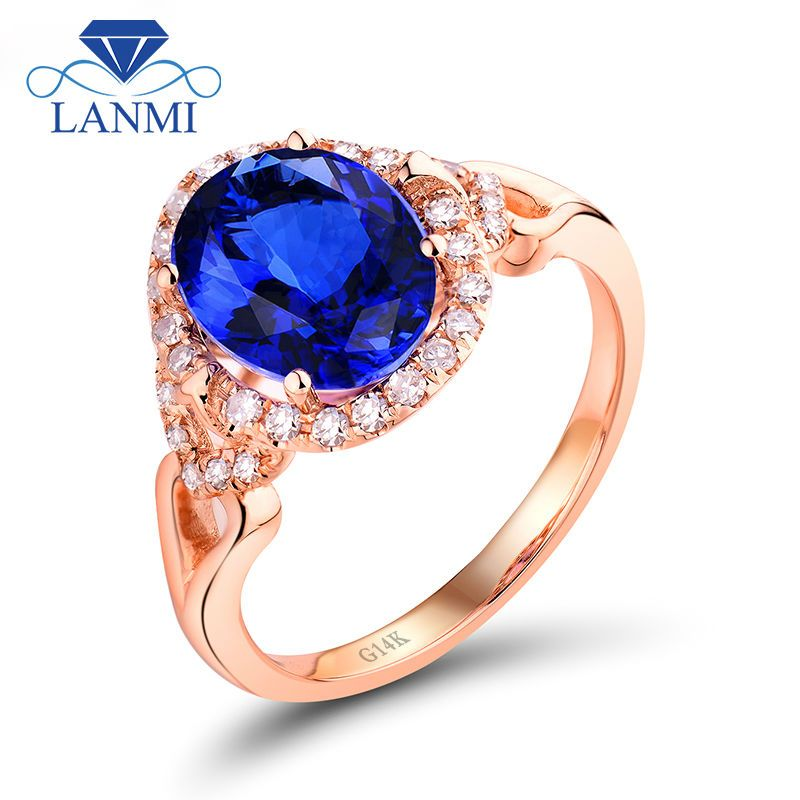 Click to Buy AAA Genuine Tanzanite Gemstone With Natural