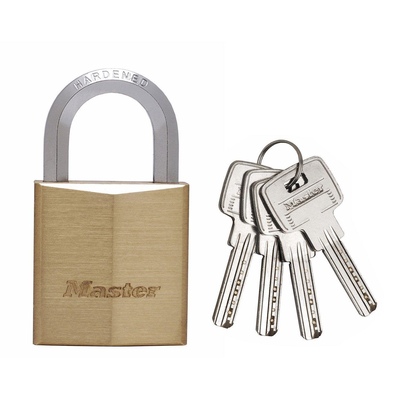Cadenas à Clé Master Lock Laiton Nickelé L40 Mm In 2019