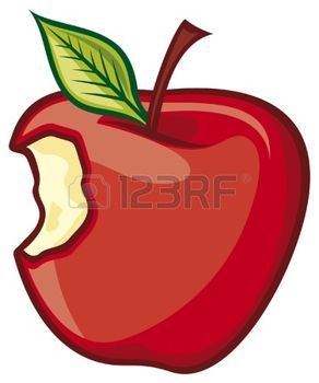 Bitten Apple Cliparts Stock Vector And Royalty Free Bitten Apple Illustrations Apple Illustration Illustration Apple