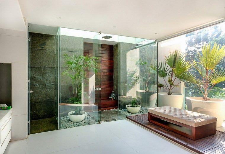 Hormigon armado 65 diseños con paredes de hormigón expuesto Baños - baos lujosos