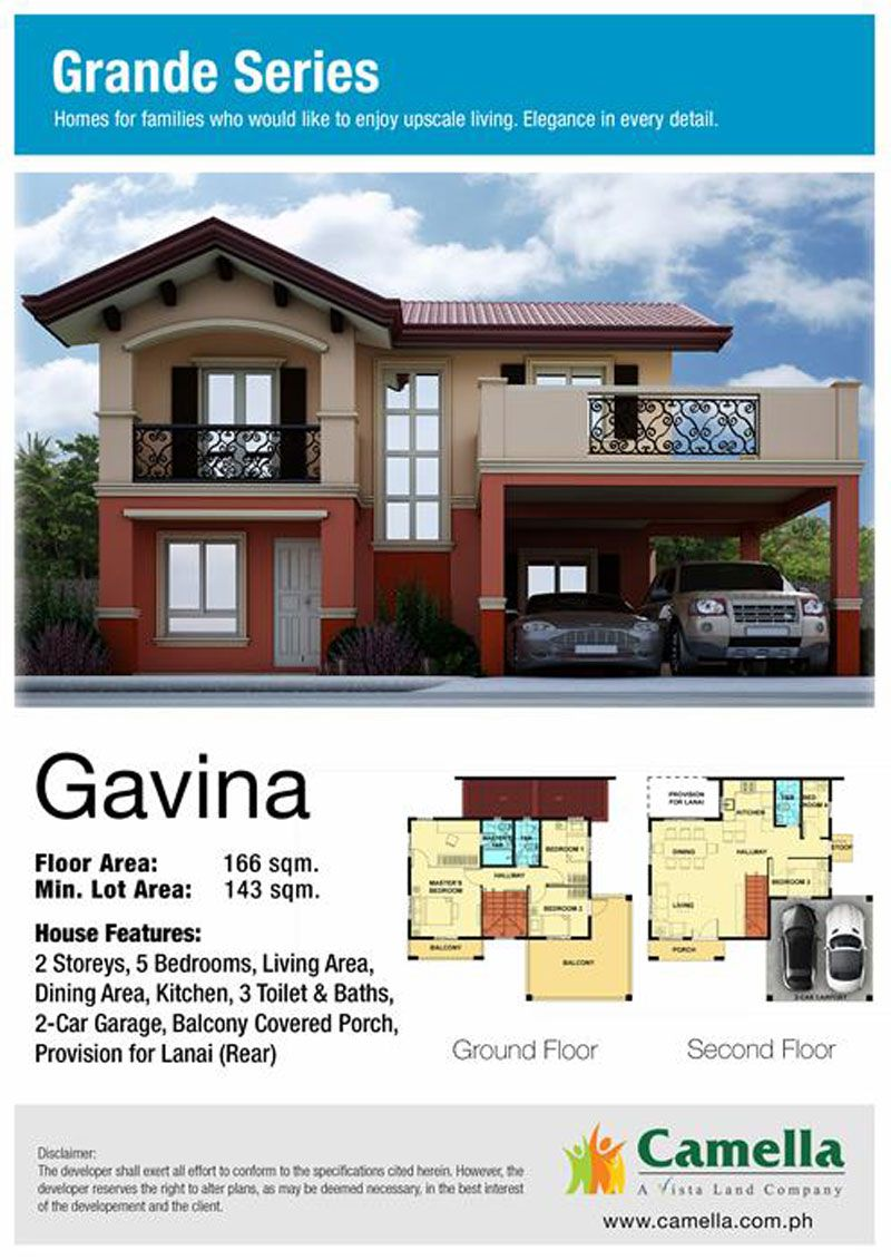 Gavina House Model Price 5 300 000 To 7 100 000 Camella Homes Best Exterior House Paint House Design Pictures House Design