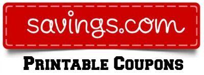 Savings Com Printable Coupons Printable Coupons Coupons Online Coupons Codes
