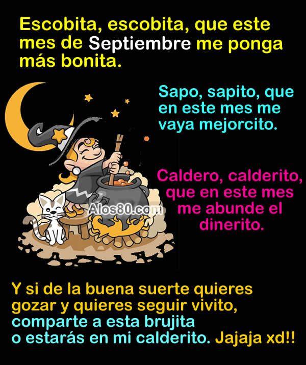 Bienvenido El Mes De Septiembre Imagenes Graciosas De